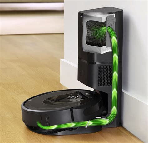 Product Of The Week Roomba I7 With Automatic Dirt Disposal by Irobot S New Roomba Robot Vacuum Empties Itself While