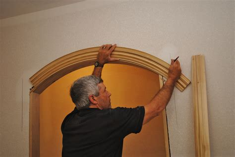 installing arched casing jlc