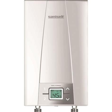 chauffe eau cuisine chauffe eau instantané électrique multipoint d 39 eau cex9 saniself 6 6 kw leroy merlin