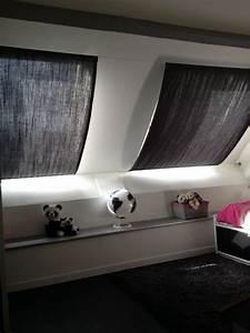 Fenetre De Toit 114x118 Pas Cher : rideaux sur c bles pour fen tres de toit tapis voilage ~ Premium-room.com Idées de Décoration