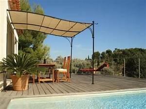 Tonnelle Pour Balcon : tonnelle de terrasse mod le luberon donnez du cachet ~ Premium-room.com Idées de Décoration