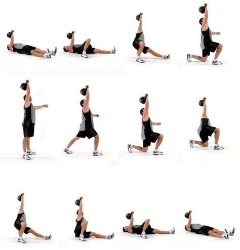 kettlebell training workout turkish ups kettle bell crossfit ejercicios exercises weight getup weights hand belangrijke tijdens punten zijn bootcamp uithoudingsvermogen
