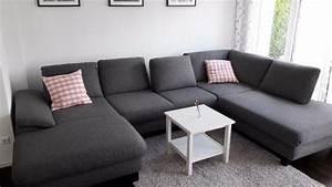 Günstige Wohnlandschaft U Form : sofa hofmeister markenwohnlandschaft grau u form neuwertig 7 monate in heimsheim polster ~ Indierocktalk.com Haus und Dekorationen