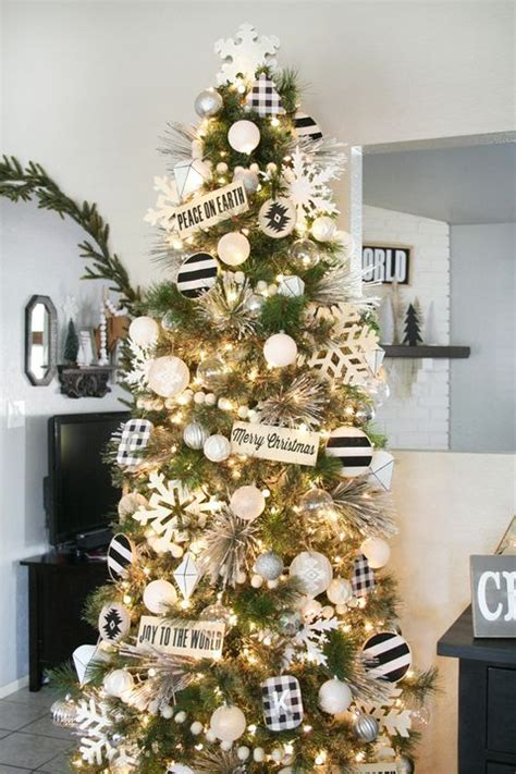 White Tree Decoration Ideas - 86 best tree decorating ideas how to decorate