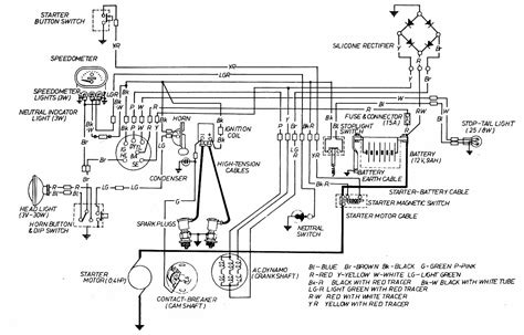 Caf 150 Electrical Wiring Diagram by Cb160 Racer Page 15