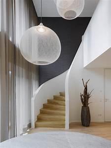 Vorhänge Große Fenster : lampen fr hohe decken staircase contemporary with transparente vorh nge gro e fensterfront graue ~ Sanjose-hotels-ca.com Haus und Dekorationen