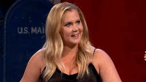 amy schumer talks    cool weight gain