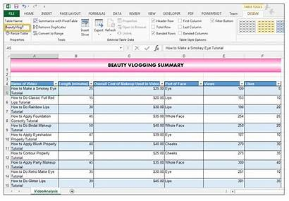 Excel Tables Table Nomenclature Using Vba Referring