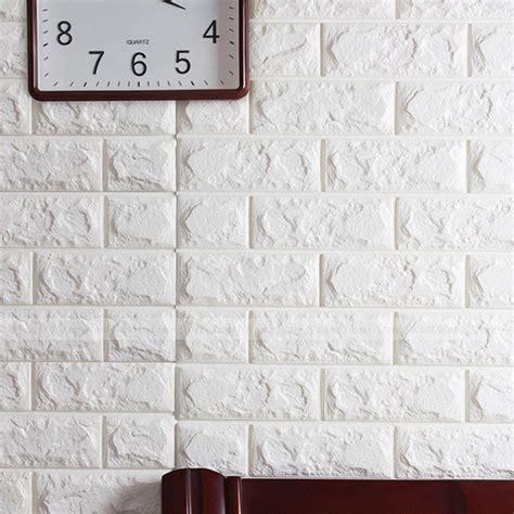 flexible l neck material luxury 3d effect flexible stone brick wall textured viny
