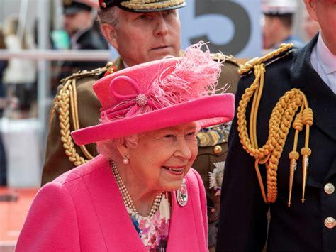 queen elizabeth ii celebrates  birthday  massive