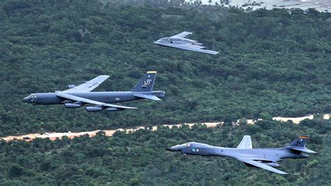 B1, B2, B52 Fly Together In A Massive Show Of Force