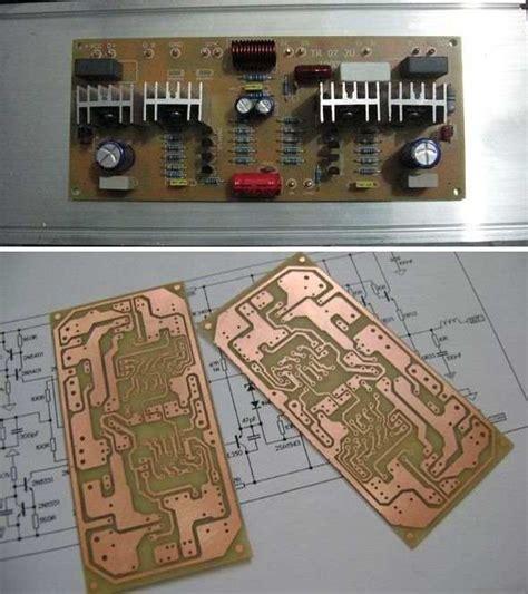 Circuit Diagram Of 400w Audio Amplifier