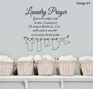 Laundry Room Vinyl Wall Quotes Quotesgram Diy Removable