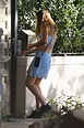 JESSICA STEINDORFF Out and About in Santa Monica 04/11 ...