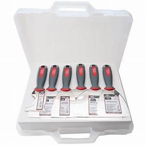 Outils De Plaquiste : mallette de 6 couteaux de plaquiste l 39 outil parfait ~ Edinachiropracticcenter.com Idées de Décoration