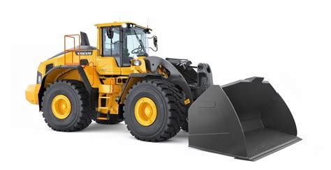 volvo lh front  loader  full buckets