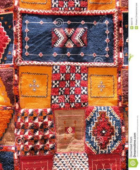moroccan rugs stock image image  yellow home moroccan