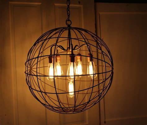 outdoor industrial lighting fixtures orb chandelier industrial sphere id lights