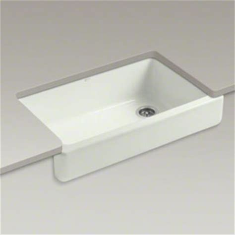 kohler k 6488 ny whitehaven self trimming apron front single basin sink dune faucetdepot