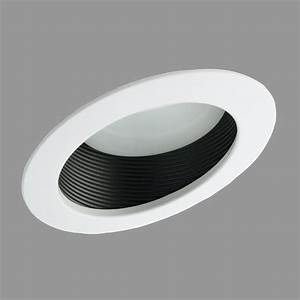 Nicor lighting in sloped ceiling baffle recessed