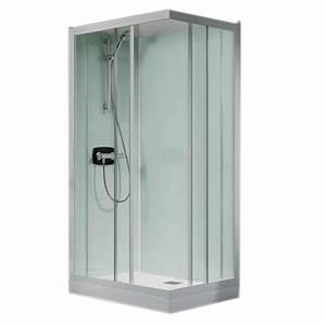 Cabine De Douche 70x70 : cabine de douche kineprime glass c angle 70x70 portes ~ Dailycaller-alerts.com Idées de Décoration