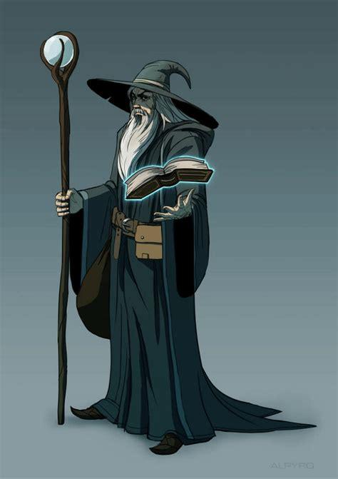 Wizard by AlpYro on DeviantArt