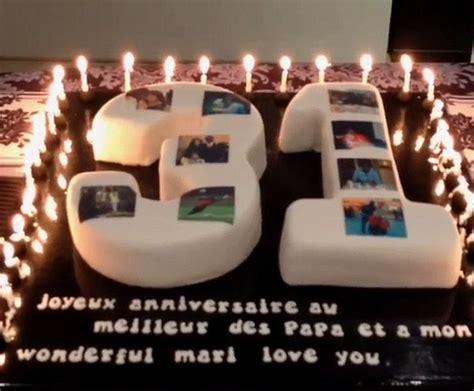 ins china 萨尼亚庆31岁生日 娇妻赠超大蛋糕送惊喜 虎扑国际足球新闻