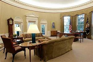 2nd Oval Office Readied In White House Rehab Project