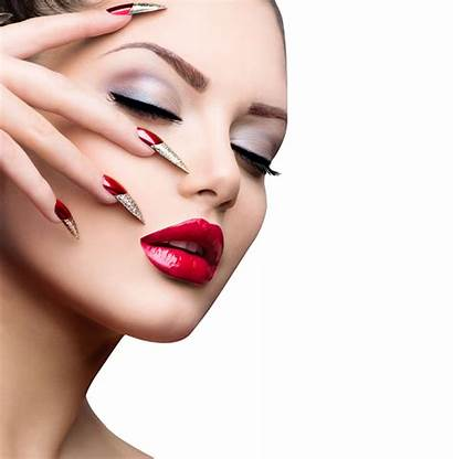 Nail Makeup Female Polish Clipart Emitting Ultraviolet