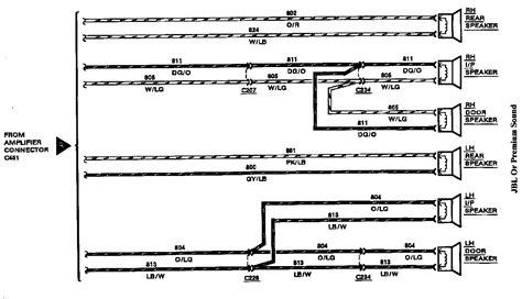 1997 lincoln town car executive series radio wiring diagram