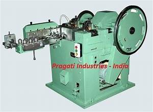 Wire Nail Making Machine At Rs 1   Piece
