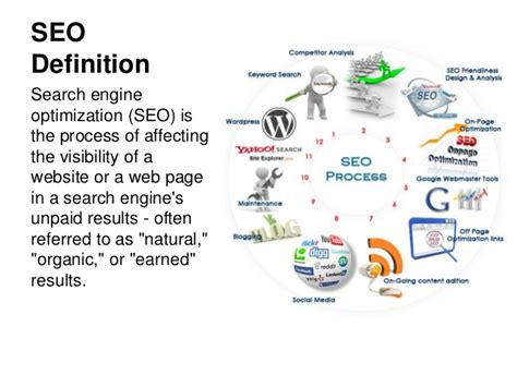 Define Search Engine Optimisation - seo tutorial for beginners