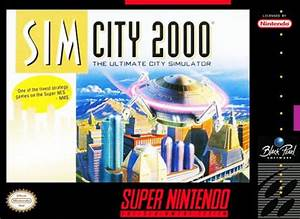 SimCity 2000 SNES Super Nintendo