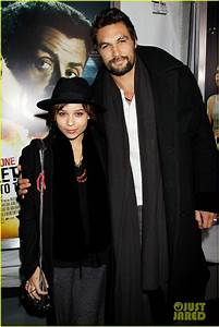 Zoe Kravitz & Jason Momoa: 'Bullet to the Head' Premiere ...