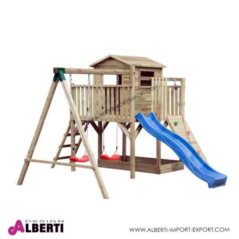 giochi da giardino composizione per bambini da giardino tobias 420x370xh250 cm