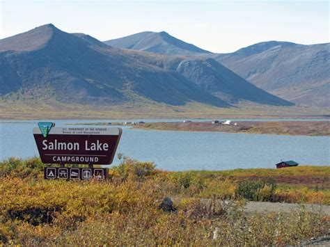 a drive to salmon lake alaska in pictures georneys