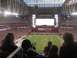 Seating Chart For State Farm Stadium Arizona Cardinals Seating Guide State Farm Stadium