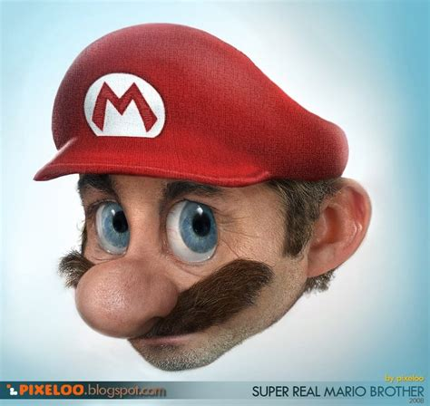 Creepy Super Real Mario Brother Wired