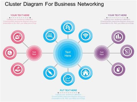 network powerpoint template network diagrams powerpoint