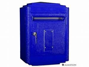 Boite à Lettre La Poste : boites aux lettres officielle de la poste bleu almateon ~ Dailycaller-alerts.com Idées de Décoration