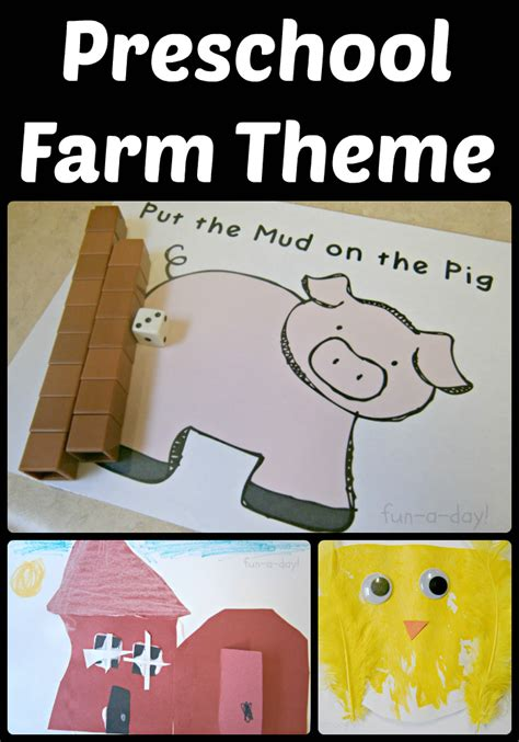 15 ideas for a preschool farm theme 700 | preschool farm theme header