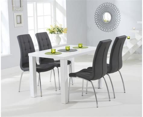 White Gloss Dining Table by 20 Best Ideas White Gloss Dining Tables 120cm Dining