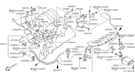 Nissan Pathfinder Engine Diagram Automotive Parts
