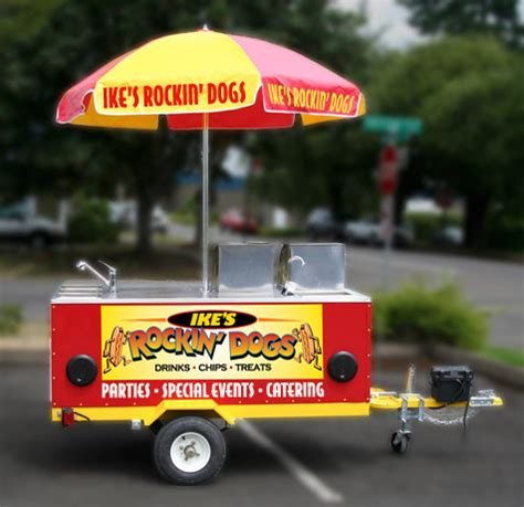 hot dog carts hot dog cart