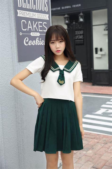 high quality girl japanese uniform sailor school uniform