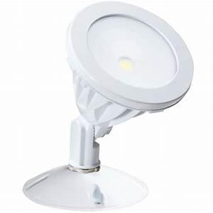 Irradiant white led outdoor wall mount flood light alv h