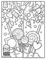 Coloring Candy Pages Skull Sugar Sweet Printable Print Sheets Cute Drawing Food Getcolorings Adults Christmas Pdf Books Popular Young Getdrawings sketch template