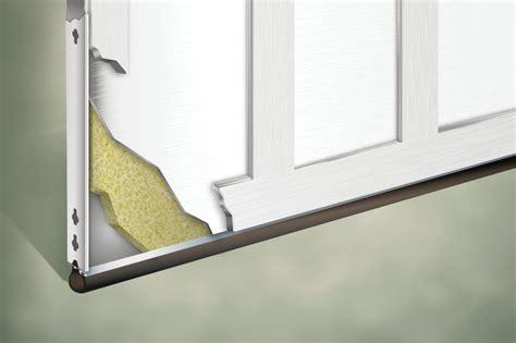 garage doors insulated insulate polystyrene polyurethane approach why help sense cores achieve layered values than hw weather dalton clopay wayne