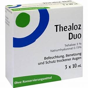 Docmorris Rechnung : thealoz duo augentropfen 3x10 ml von thea pharma gmbh apothekenvergleich ~ Themetempest.com Abrechnung