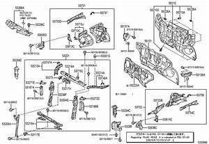 1989 Toyota Hood Stop Buffer  Upper